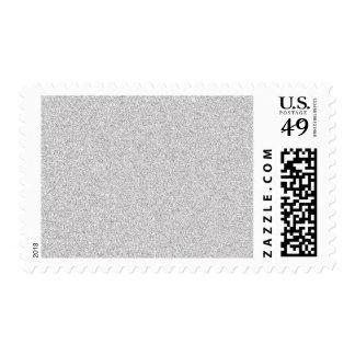 Customizable Silver Glitter Stamp