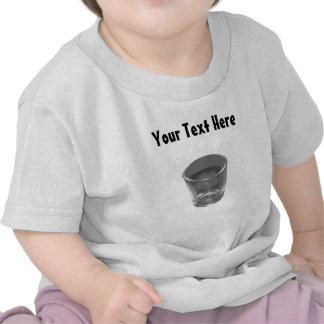 Customizable Silver Shot Glass Baby's T-Shirt