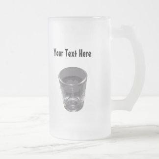 Customizable Silver Shot Glass Glass Mug