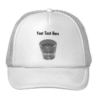 Customizable Silver Shot Glass Hat
