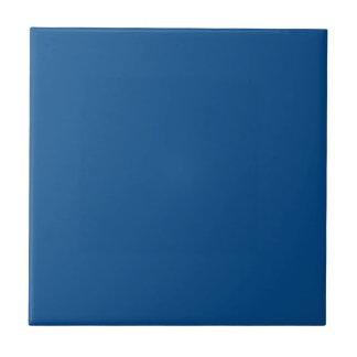Customizable Simple Dark Blue Tile 2 Small Square Tile