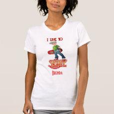 Customizable Skateboarder T-Shirt