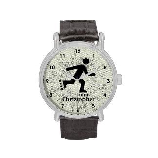 Customizable Skating Design Watch