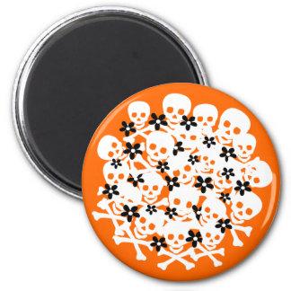 Customizable Skull Ball Magnet