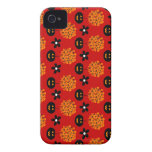 Customizable Skull Topiary Case-Mate iPhone 4 Case
