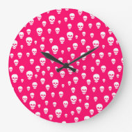 Customizable Skulls Clock