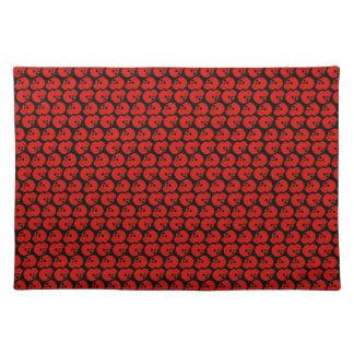 Customizable Skulls Cloth Placemat
