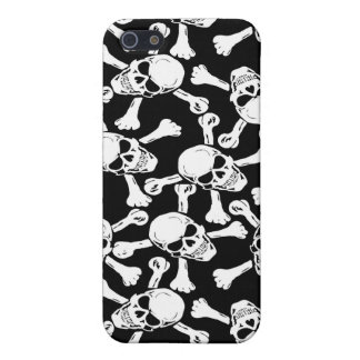 Customizable Skulls Crossbones iPhone Case Cover For iPhone 5