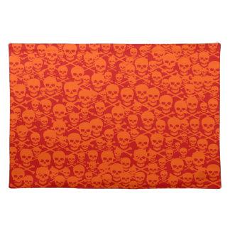 Customizable Skulls & Crossbones Placemat