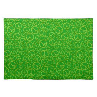 Customizable Skully Peace Cloth Place Mat