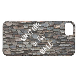"""Customizable Smartphone Case-""""Writing on the Wall"""" iPhone SE/5/5s Case"""