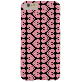 Customizable Smiley Hearts Barely There iPhone 6 Plus Case