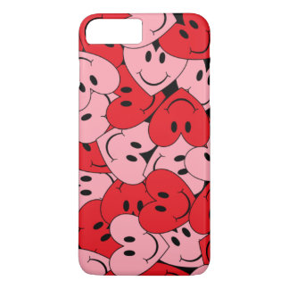 Customizable Smiley Hearts iPhone 8 Plus/7 Plus Case
