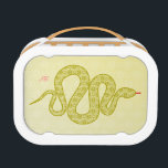 """Customizable: Snake Lunch Box<br><div class=""""desc"""">Unique,  cool and fun artwork. Add your own text/initials.</div>"""