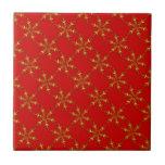 Customizable Snowflake Tile