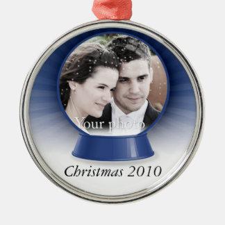 customizable snowglobe ornament