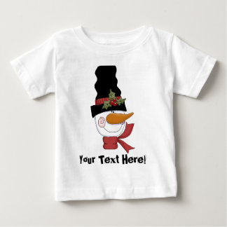 Customizable Snowman T-shirt
