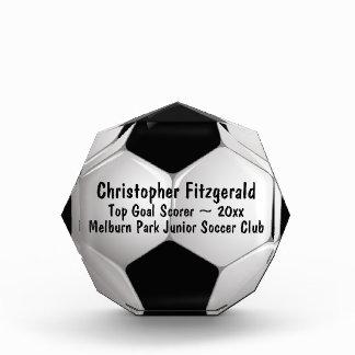 Customizable Soccer Ball Award