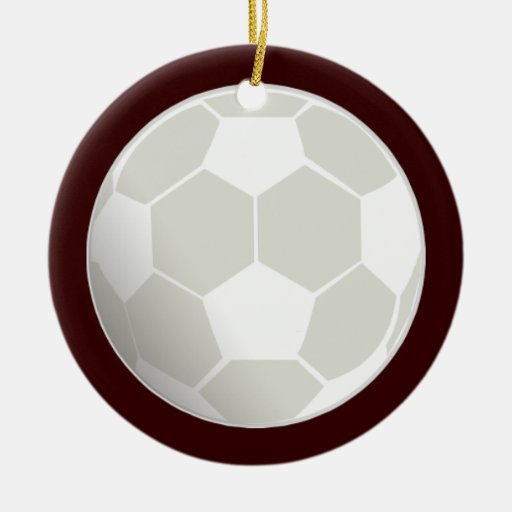Customizable Soccer Ball Ornament