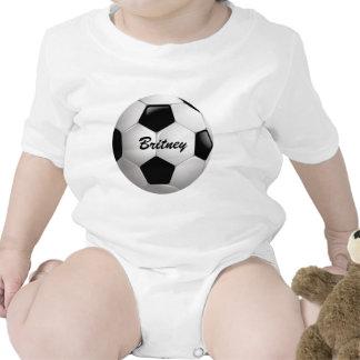 Customizable Soccer Ball Romper
