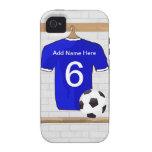 Customizable Soccer Shirt Vibe iPhone 4 Case