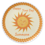 Customizable Special Day Plate