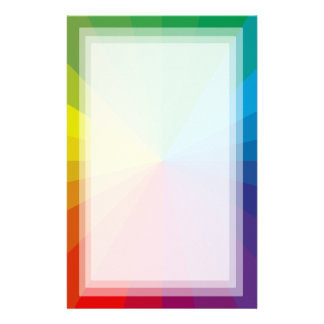 Customizable Spectrum Collection Stationery
