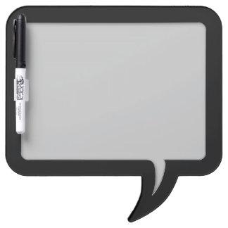 Customizable Speech Bubble Message Board (Black)