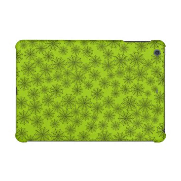 Halloween Themed Customizable Spider Webs iPad Mini Case