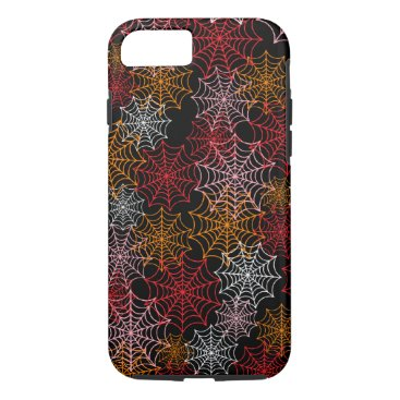 Halloween Themed Customizable Spider Webs iPhone 8/7 Case