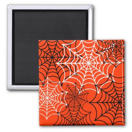Customizable Spider Webs Magnet