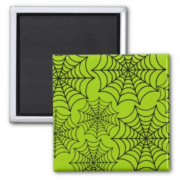 Halloween Themed Customizable Spider Webs Magnet