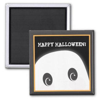 Customizable Spooky Ghost Halloween Magnet