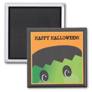 Customizable Spooky Monster Halloween Magnet