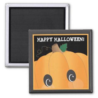 Customizable Spooky Pumpkin Halloween Magnet