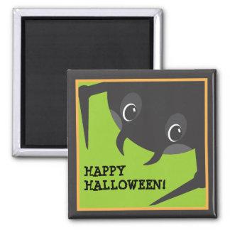 Customizable Spooky Spider Halloween Magnet