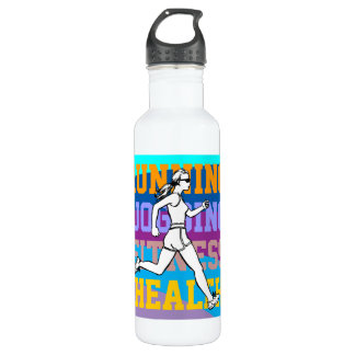 Customizable Sport and Fitness 24oz Water Bottle