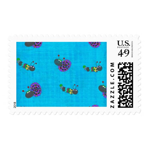 Customizable Springy Bugs Cards and Gifts Stamps