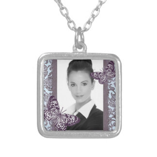 Customizable Square Necklace_Small Square Pendant Necklace