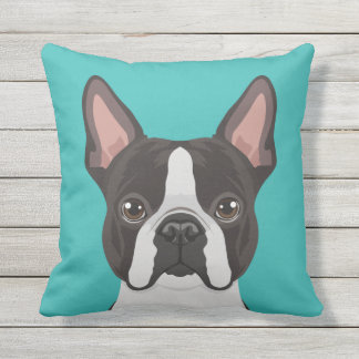 Customizable Square Outdoor Pillow - Choose Color