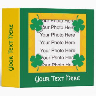 Customizable St. Patricks Day Album Binder