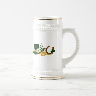 CUSTOMIZABLE St. Patrick's Day Design Beer Stein
