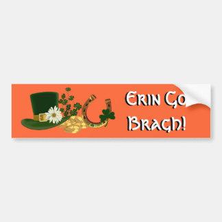 CUSTOMIZABLE St. Patrick's Day Design Bumper Sticker