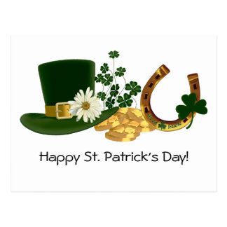 CUSTOMIZABLE St. Patrick's Day Design Postcard