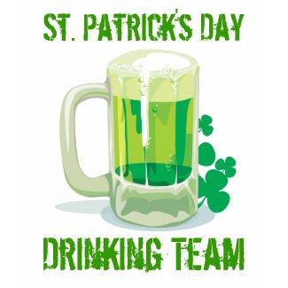 St. Patricks Drinking Team shirt