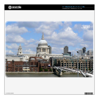 Customizable: St Paul's Decal For The MacBook