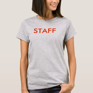Customizable STAFF Shirts