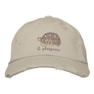Customizable Star Tortoise Embroidery Cap