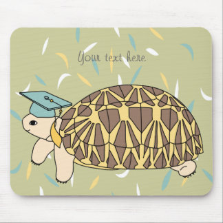 Customizable Star Tortoise Graduation Mouse Pad