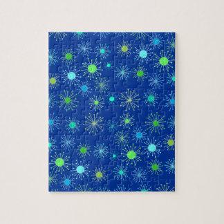 Customizable Starbursts Jigsaw Puzzle